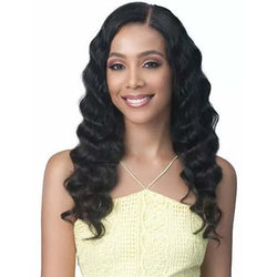 Beauty Depot O-Store Bobbi Boss: Human Hair 13x4 Lace Front Wig - Ocean Wave 24""