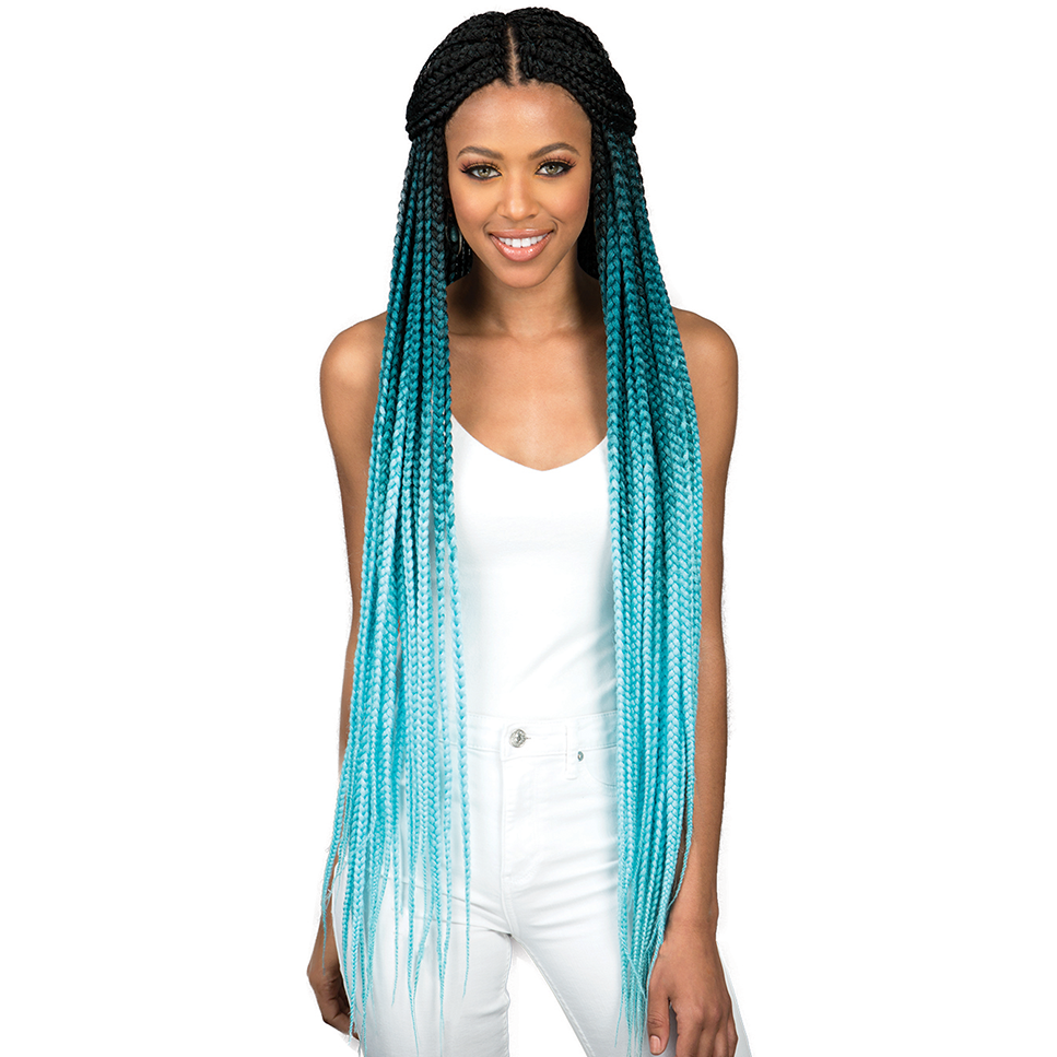 Bobbi Boss Braiding Hair #3T1B/PK613 Bobbi Boss: Bomba Box Braid 36""