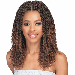 Bobbi Boss Crochet Hair #1 Bobbi Boss: Bomba Senegal Twist Curly Tips 10""