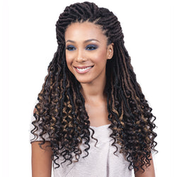Bobbi Boss Crochet Hair #1 Bobbi Boss Nu Locs Curly Tips 20""