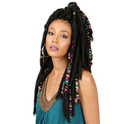 Bobbi Boss Crochet Hair #1 - Jet Black Bobbi Boss: Bae Locs 20""