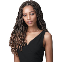 Bobbi Boss Crochet Hair Bobbi Boss: 2x Nu Locs Curly Tips 18""