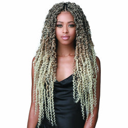 Bobbi Boss Crochet Hair BOBBI BOSS: 3X PASSION TWIST BOHO STYLE 18""