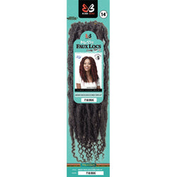 Bobbi Boss Crochet Hair Bobbi Boss: Messy Faux Locs Curly Tips 14""