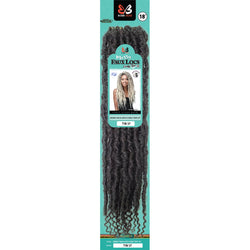 Bobbi Boss Crochet Hair Bobbi Boss: Messy Faux Locs Curly Tips 18""