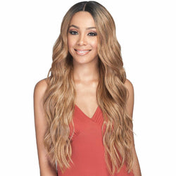 Bobbi Boss lace wigs Bobbi Boss: Human Hair Blend Lace Front Wig - Mora