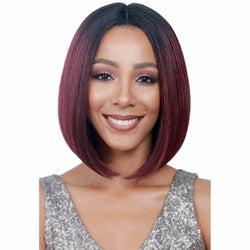 Bobbi Boss lace wigs Bobbi Boss: Swiss Lace Front Wig - April