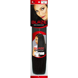 "Bobbi Boss Weaving Hair 8"" / #1 - Jet Black BOBBI BOSS® BLAZE® NATURAL YAKY <br> 100% Human Hair"