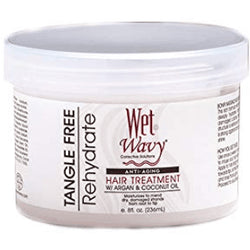 Bonfi Hair Care Wet & Wavy: Anti Aging Hair Treatment 8oz