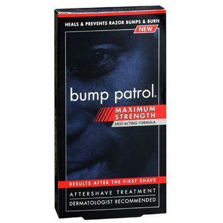 BUMP CONTROL Body Cream BUMP CONTROL ORIGINAL FORMULA MAX STRENGTH MOISTURIZING AFTERSHAVE 4OZ