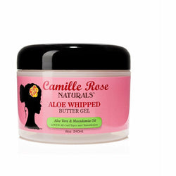 Camille Rose Naturals Hair Care Camille Rose Naturals: Aloe Whipped Butter Gel 8 oz