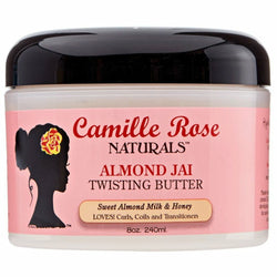 Camille Rose Styling Product CAMILLE ROSE NATURALS: ALMOND JAI TWISTING BUTTER 8 OZ