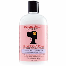 Camille Rose Styling Product CAMILLE ROSE NATURALS: MOROCCAN PEAR CONDITIONING CUSTARD 12 OZ