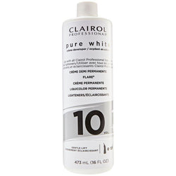 Clairol Hair Color 10v 8oz CLAIROL: Pure White Creme Developer 16oz