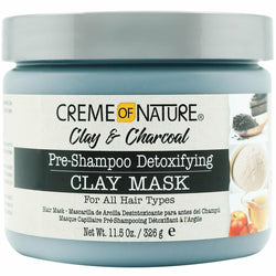 Creme of Nature Hair Care Creme of Nature: Clay & Charcoal Clay Mask 11.5oz