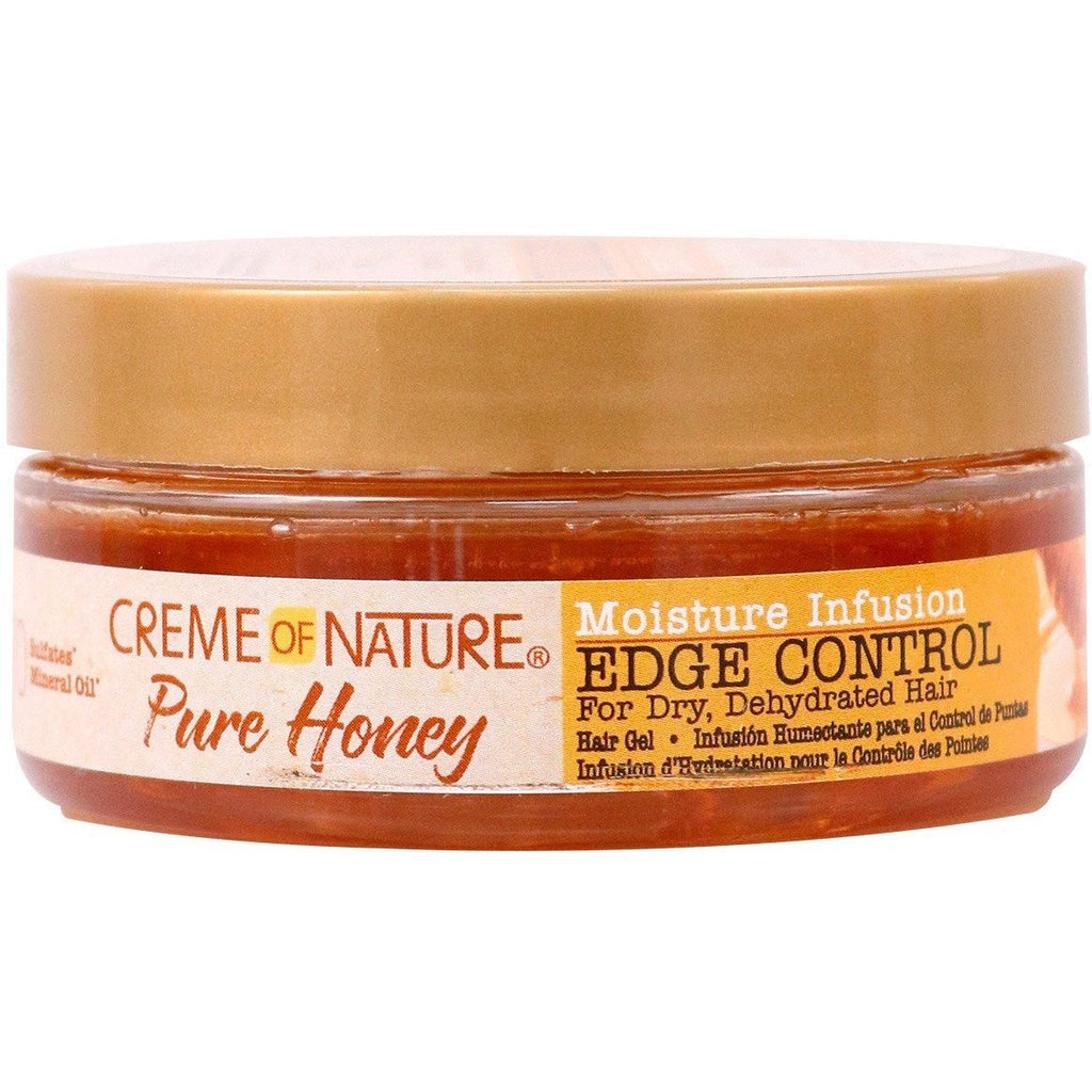 Creme of Nature Hair Care Creme of Nature: Pure Honey Moisture Infusion Edge Control 2.25oz