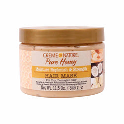 Creme of Nature Hair Care Creme of Nature: Pure Honey Moisture Replenish & Strengthening Mask 11.5oz