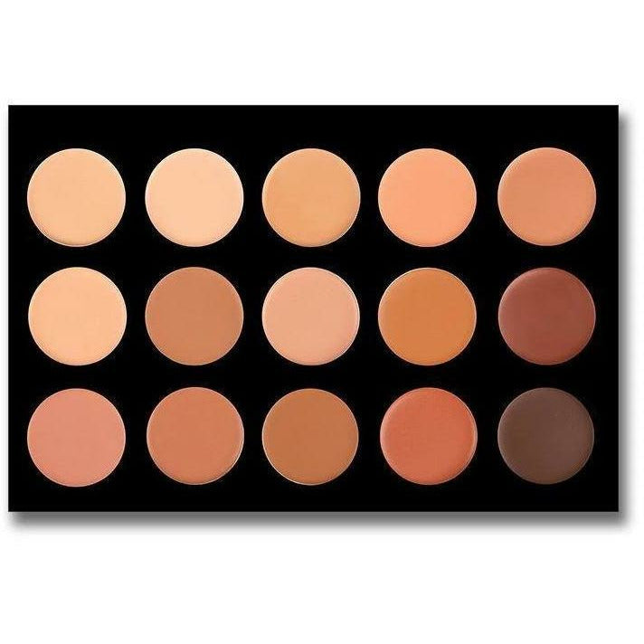 CROWN Cosmetics CROWN: 15 CREME FOUNDATION PALETTE