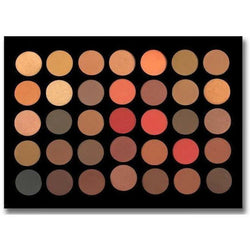 CROWN Cosmetics CROWN: 35 COLOR SCANDALOUS EYESHADOW COLLECTION PALETTE