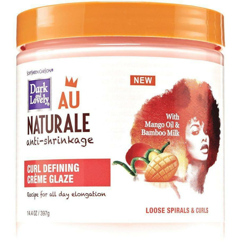 Dark and Lovely Hair Care Dark and Lovely: Au Naturale Curl Defining Creme Glaze 14oz