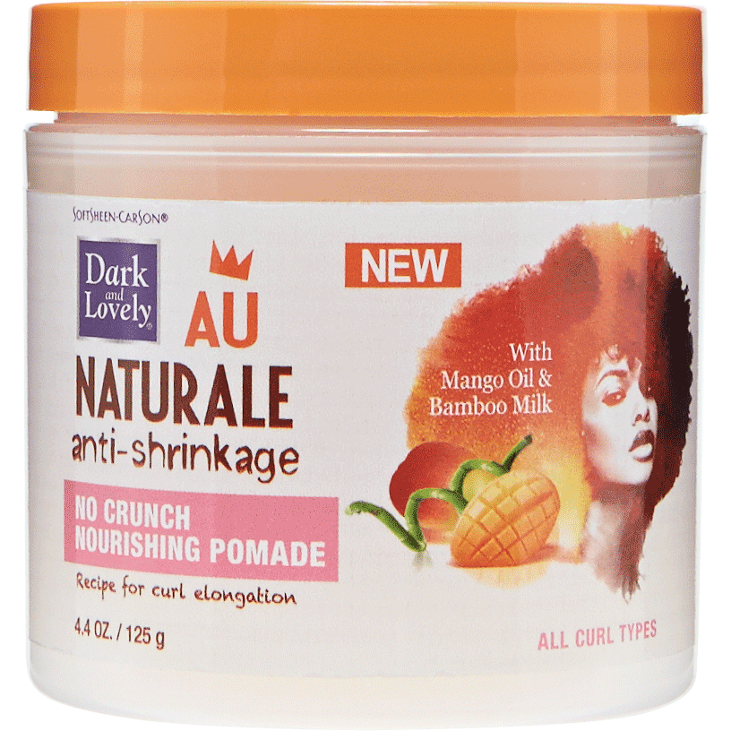 Dark and Lovely Hair Care Dark and Lovely: Au Naturale No Crunch Nourishing Pomade 4.4 oz