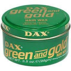 DAX Styling Product DAX: Green & Gold Hair Wax