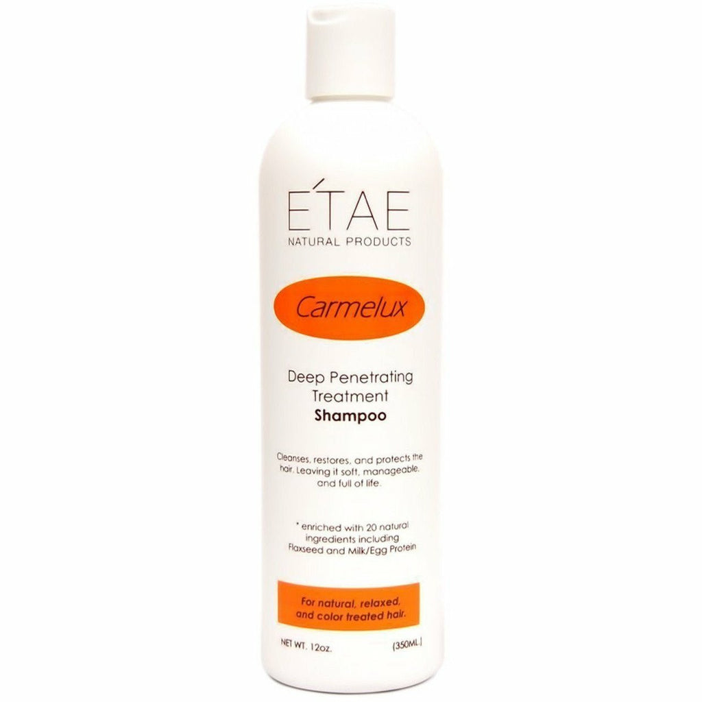 E'Tae Shampoo E'Tae: CARMELUX DEEP PENETRATING TREATMENT SHAMPOO 12oz