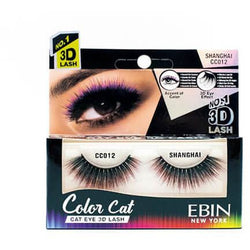 Ebin New York eyelashes EBIN: Color Cat 3D Lashes