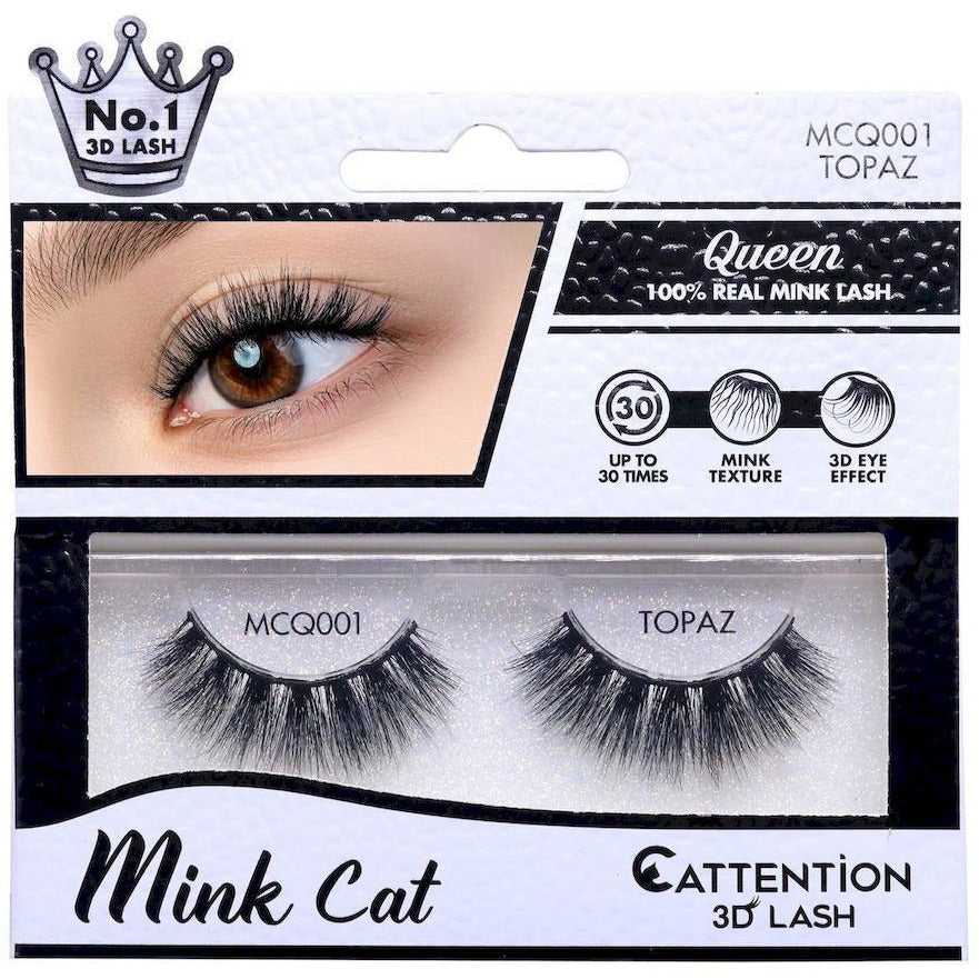 Ebin New York eyelashes EBIN: Queen Mink Cat 3D Lash