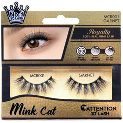 Ebin New York eyelashes MCR 001 - Garnet EBIN: Royalty Mink Cat 3D Lash