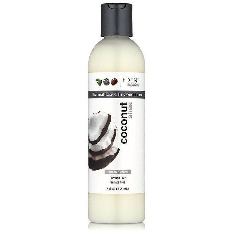 Eden Bodyworks Haircare Eden Bodyworks: COCONUT SHEA LEAVE-IN CONDITIONER 8oz