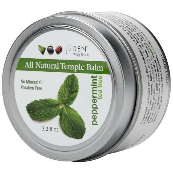 Eden Bodyworks Haircare Eden Bodyworks: PEPPERMINT TEA TREE TEMPLE BALM 3.3oz