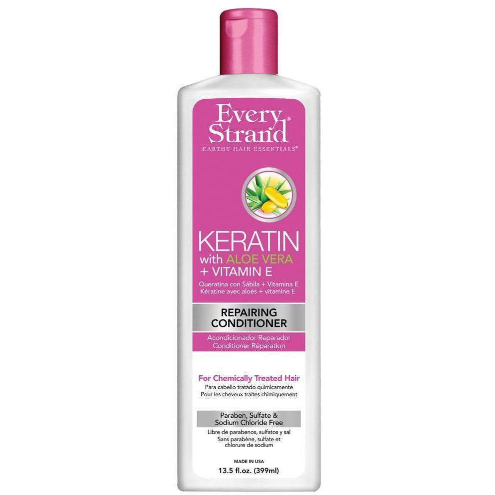 Every Strand Hair Care Every Strand: Keratin with Aloe Vera + Vitamin E Repairing Conditioner 13.5oz