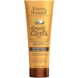 Every Strand Hair Care Every Strand: Simply Curls with Shea & Coconut Oil Professional Curling Creme 8oz