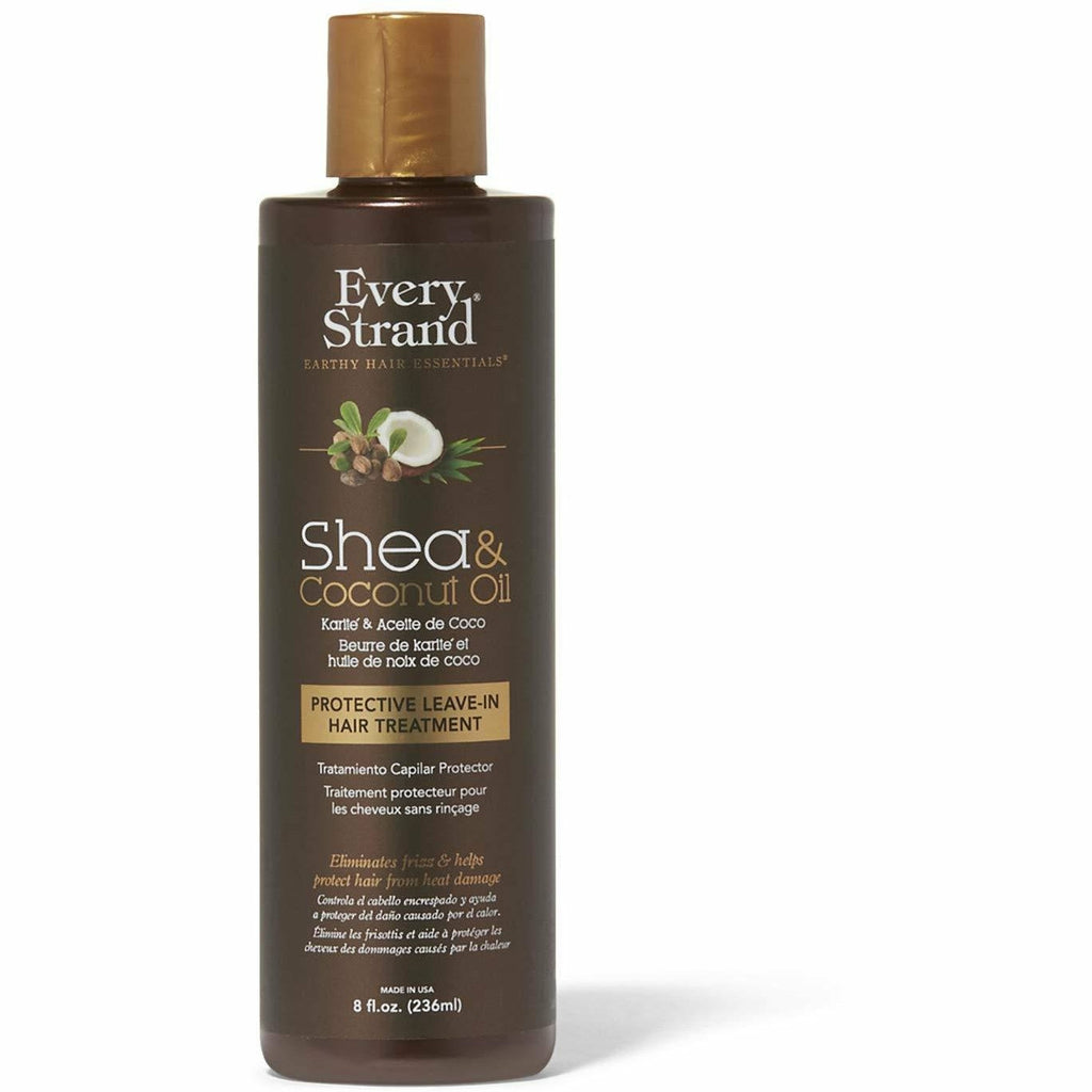 Every Strand Leave In Every Strand: Shea & Coconut Oil Protective Leave-In Hair Treatment 8oz