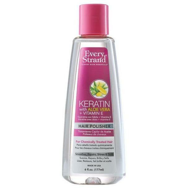 Every Strand Styling Product Every Strand: Keratin with Aloe Vera + Vitamin E Hair Polisher 6oz