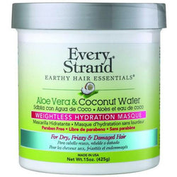Every Strand Treatments, Masks, & Deep Conditioners Every Strand: Aloe Vera & Coconut Water Weightless Hydration Masque 15oz