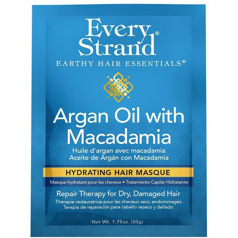 Every Strand Treatments, Masks, & Deep Conditioners Every Strand: Argan Oil with Macadamia Hydrating Hair Masque 1.75oz