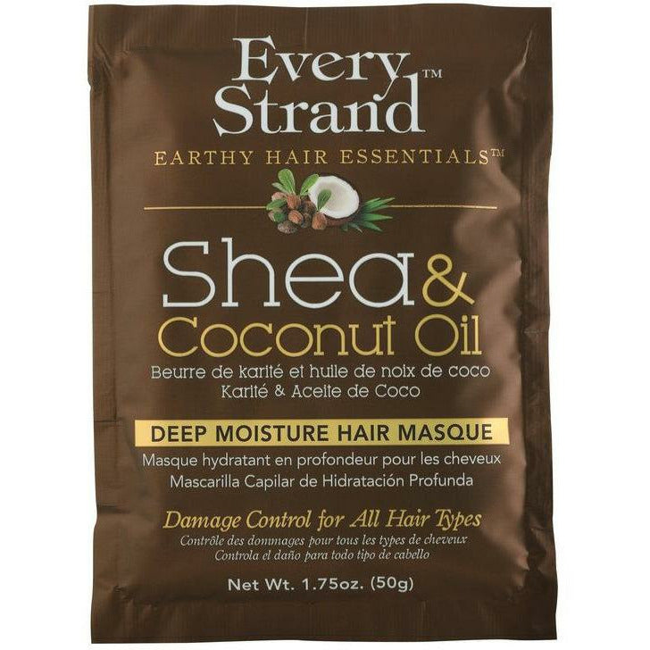 Every Strand Treatments, Masks, & Deep Conditioners Every Strand: Shea & Coconut Oil Deep Moisture Hair Masque 1.75oz