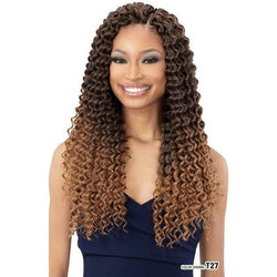 "FreeTress Crochet Hair FreeTress: 3X Summer Deep 18"" Crochet Braids"