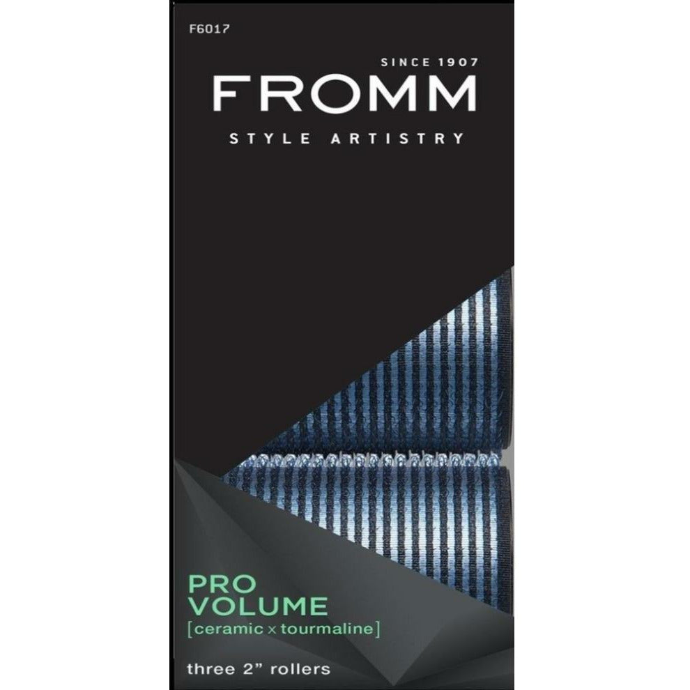 "Fromm Hair Accessories Fromm: Pro Volume 2"" Ceramic Rollers #F6017"