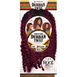 Harlem 125 Crochet Hair #1 HARLEM 125 African Braid Durban Twist 14""