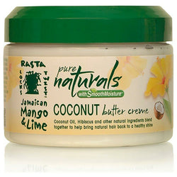 Jamaican Mango & Lime Hair Butters, Puddings, & Custards Jamaican Mango & Lime: Pure Naturals Coconut Butter Creme 12oz