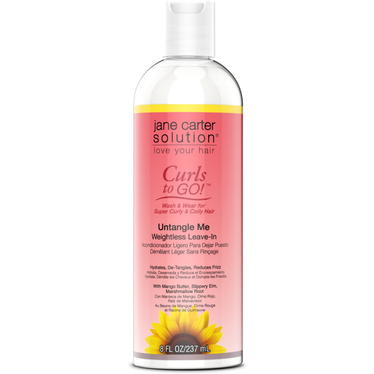 Jane Carter Solution Hair Care Jane Carter Solution: Curls to Go Un-Tangle Me Leave-In Conditioner 8oz