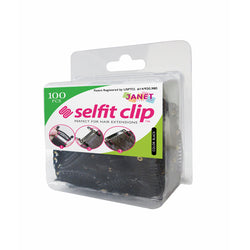 Janet Collection Accessories Black JANET COLLECTION™: SELFIT CLIP - 100 PCS<BR><I><SMALL>PERFECT FOR HAIR EXTENSIONS</SMALL></i>