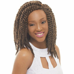 "Janet Collection Crochet Hair #1 - Jet Black JANET COLLECTION™: 12"" Havana Mambo Twist 100% Naturalon/Toyokalon"