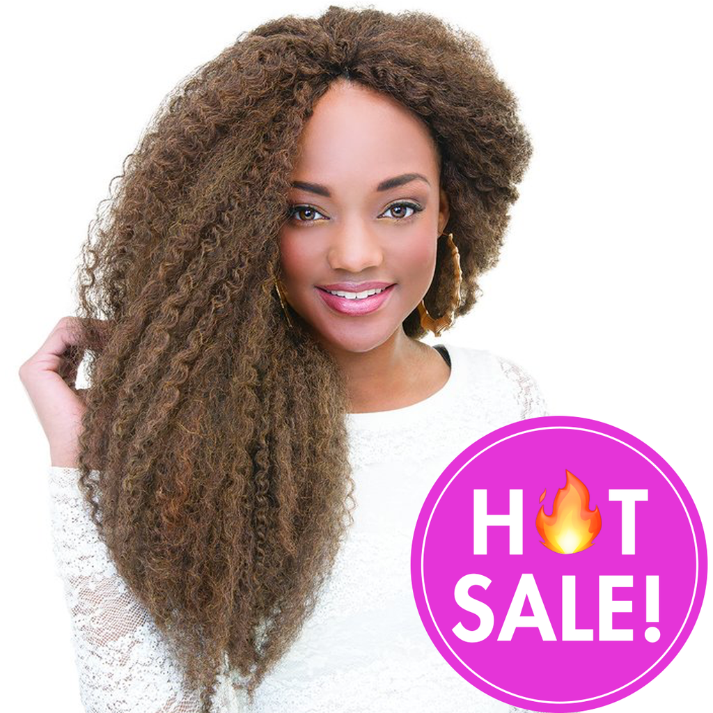 Janet Collection Crochet Hair #1 - Jet Black JANET COLLECTION 2X Afro Montego Twist Braid
