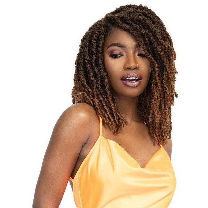 Janet Collection Crochet Hair Janet Collection: 2X XL Born Locs 12""