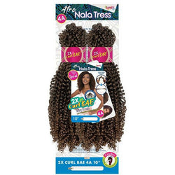 Janet Collection Crochet Hair Janet Collection: Nala Tress 2X Curl Bae 4A 10""