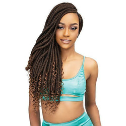 Janet Collection Crochet Hair Nala Tress: Goddess Nubian Twist 20""